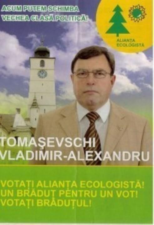 Politicieni ecologisti