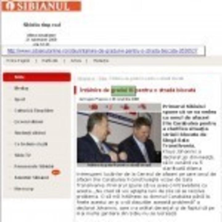 Extraterestrii conduc Sibiul