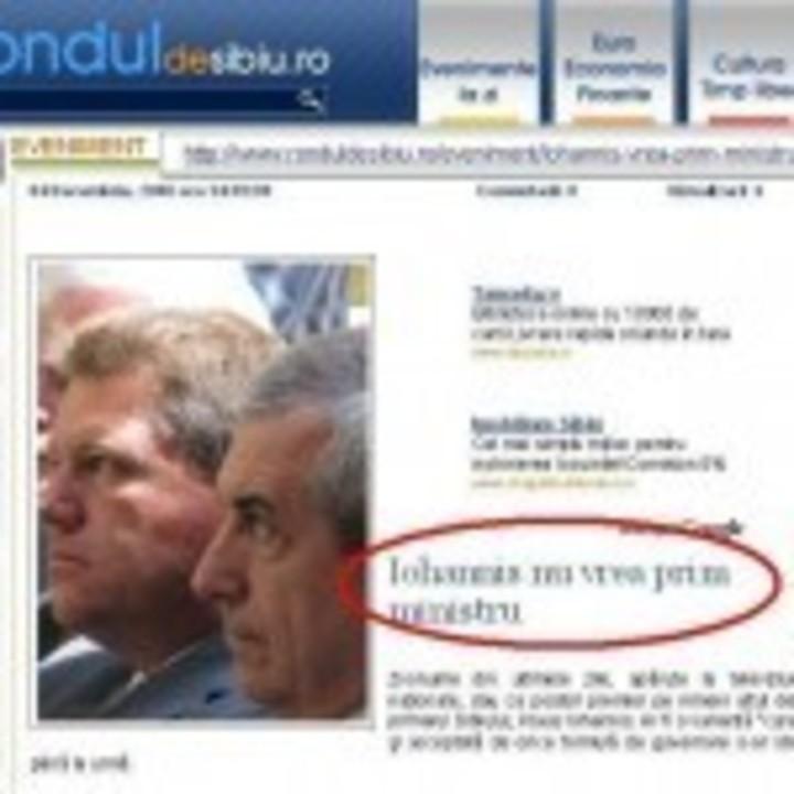 Iohannis vrea sau nu sa fie prim-ministru?