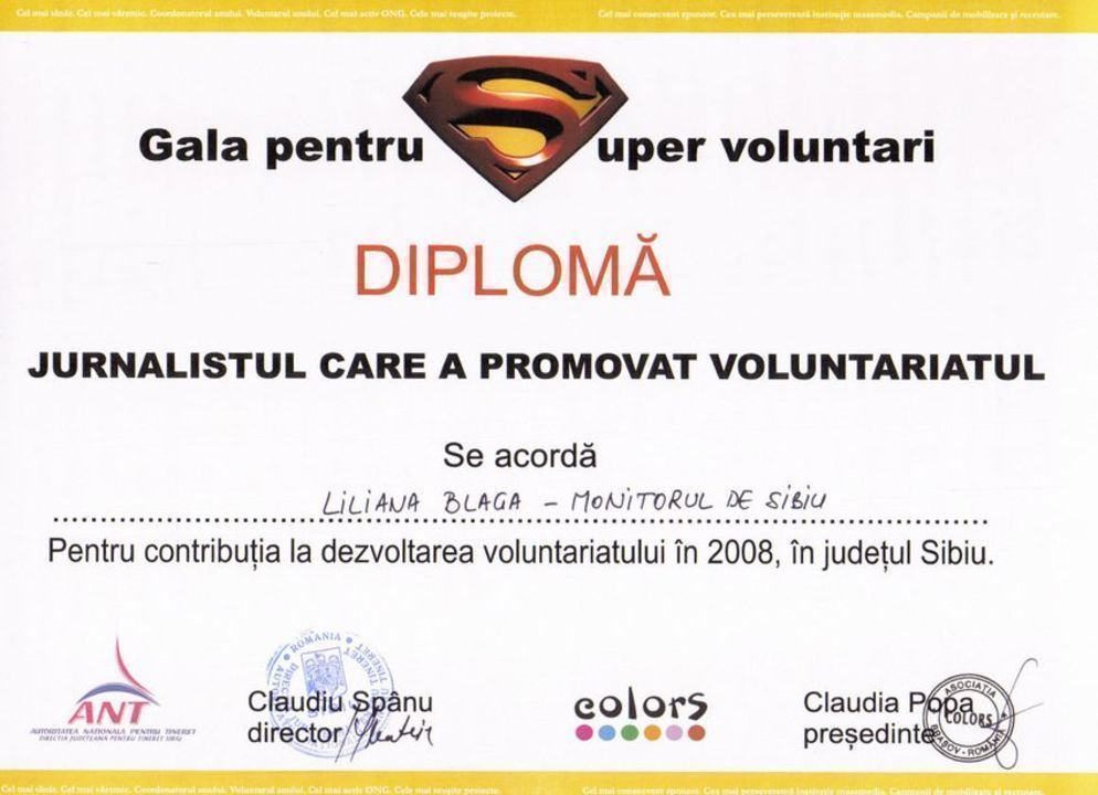 Gala super-voluntarilor