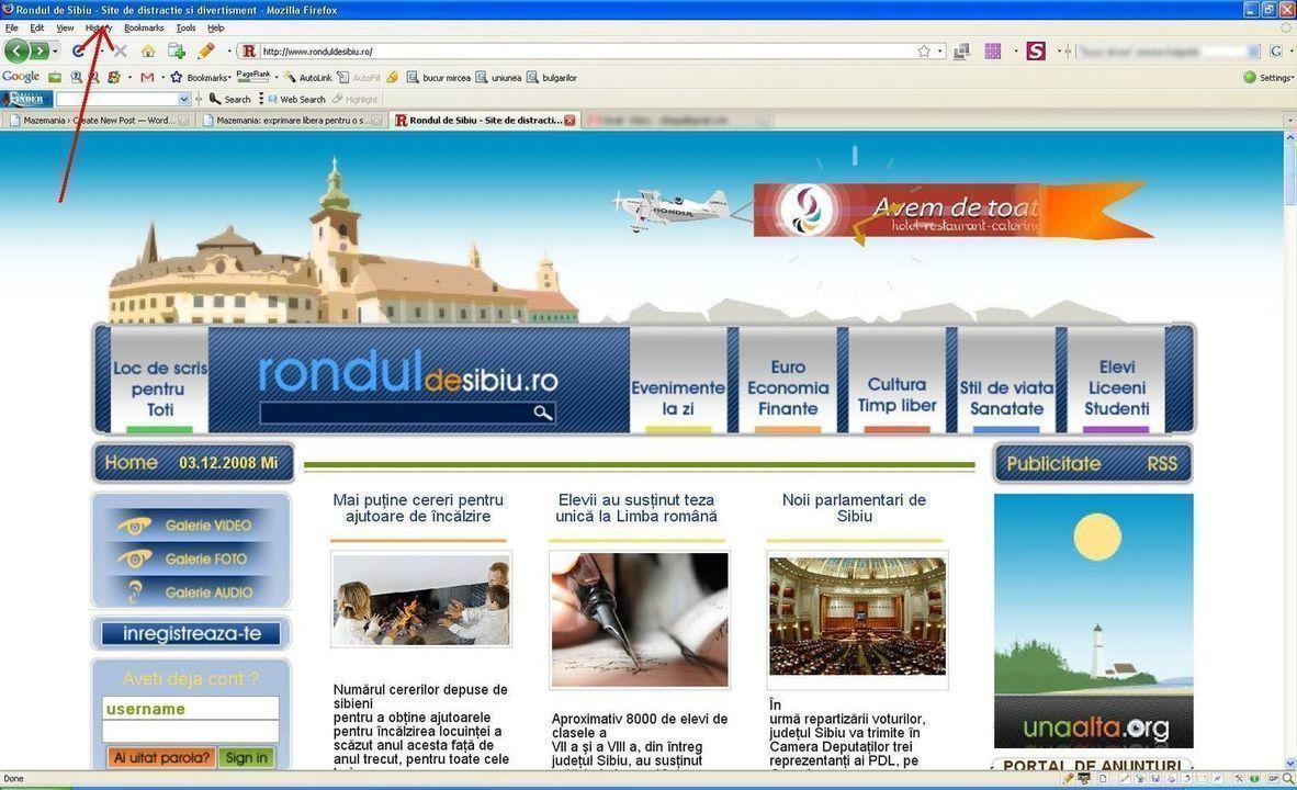 Noul Rondul de Sibiu online