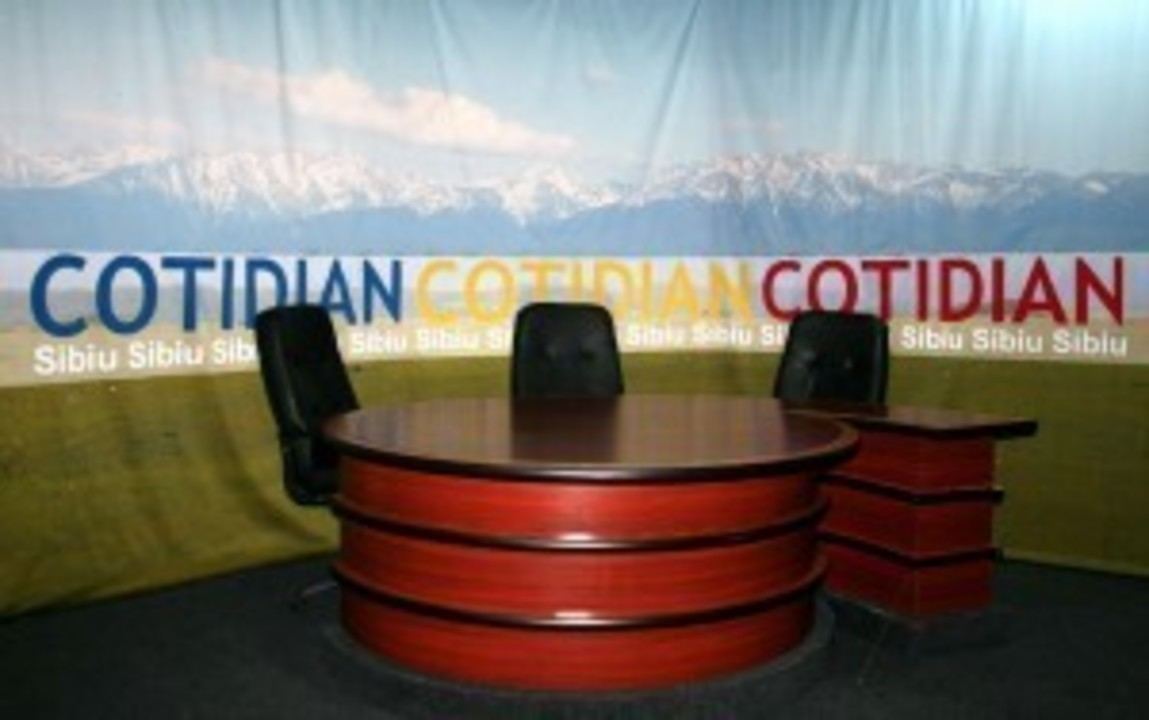 studioul Cotidian a ramas gol