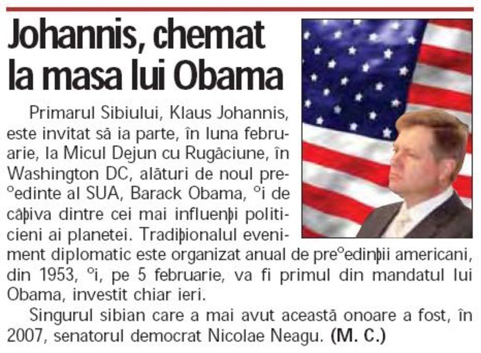 Johannis Obama