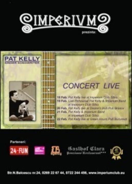 Pat Kelly in Imperium Pub