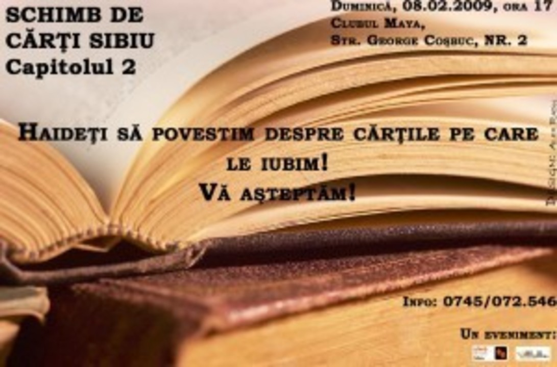 Schimb de carti 2 Sibiu