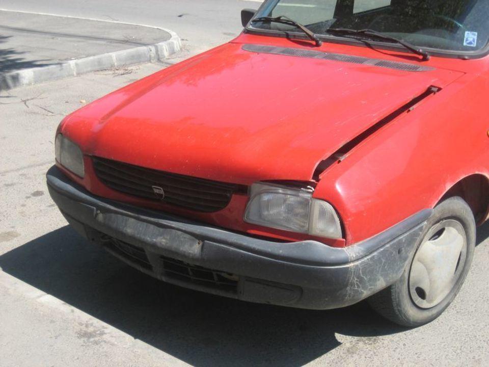 Inapoi in Sibiu. Accidentat