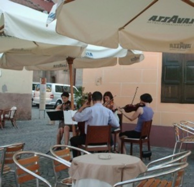 Muzica teraselor sibiene