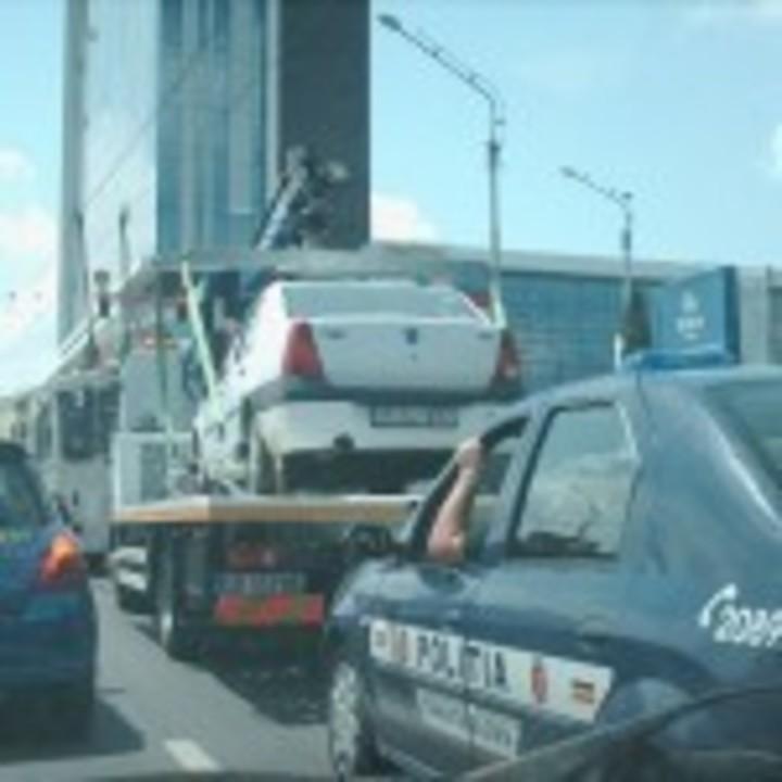 La Sibiu se ridica masini