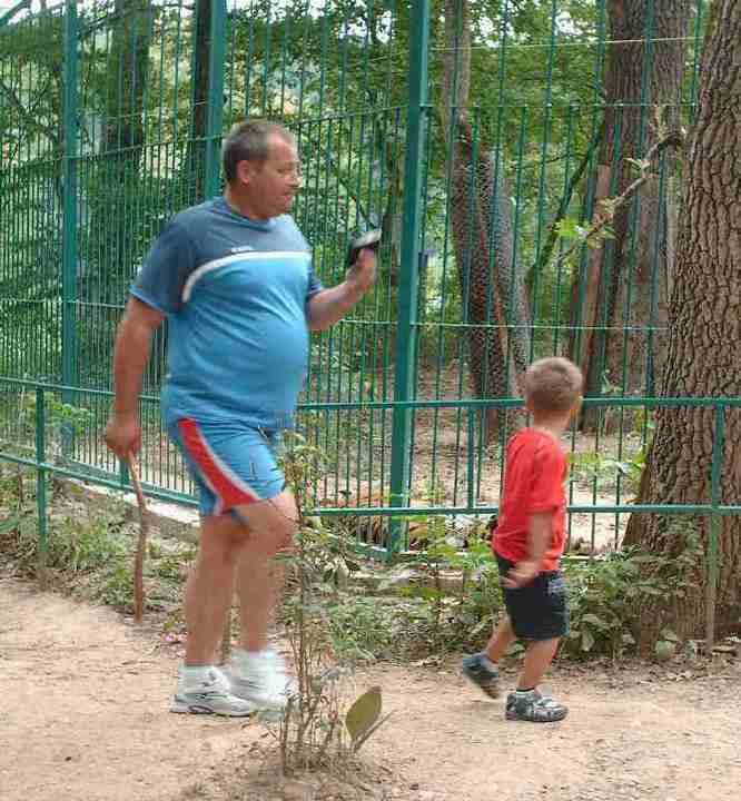 Salbaticiuni la zoo Sibiu