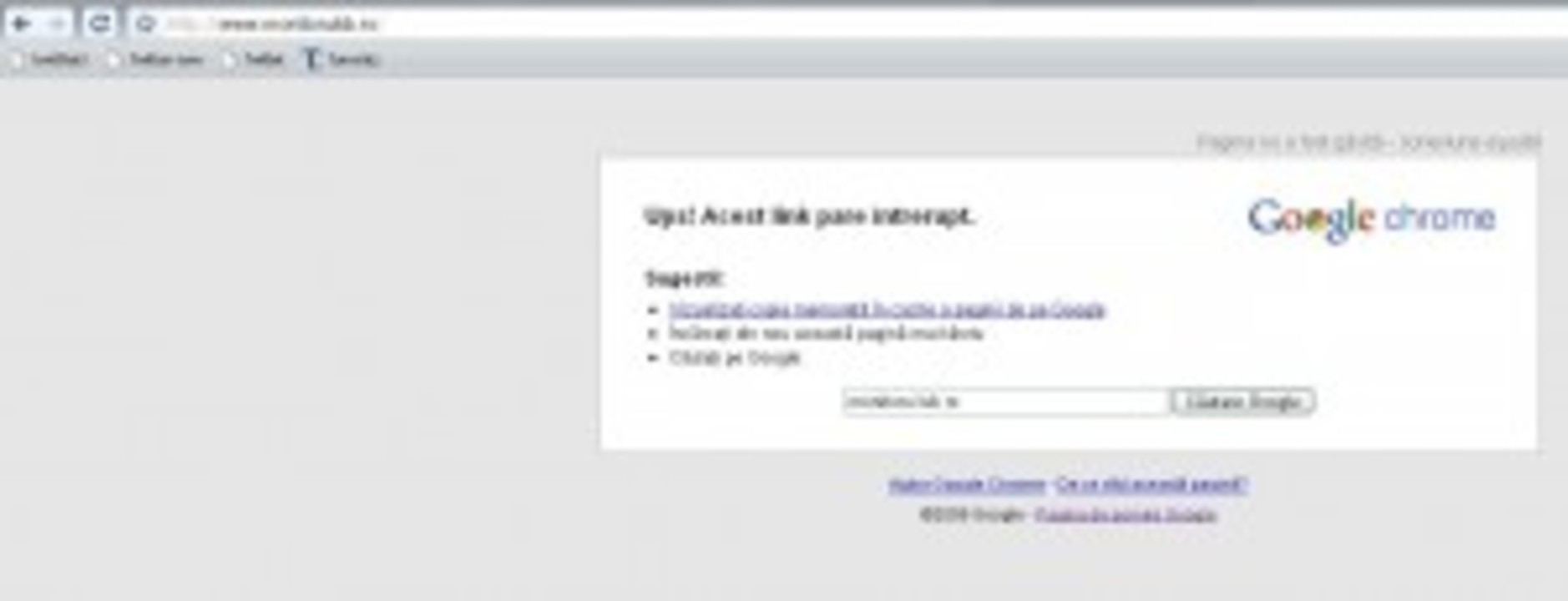 Site-ul Monitorul a cazut. Se mai ridica?