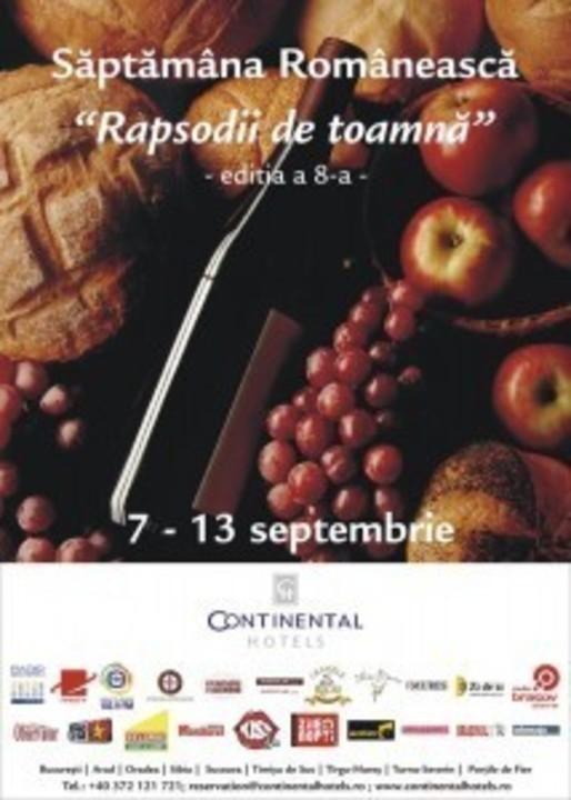 Săptămâna Românească – Rapsodii de toamnă