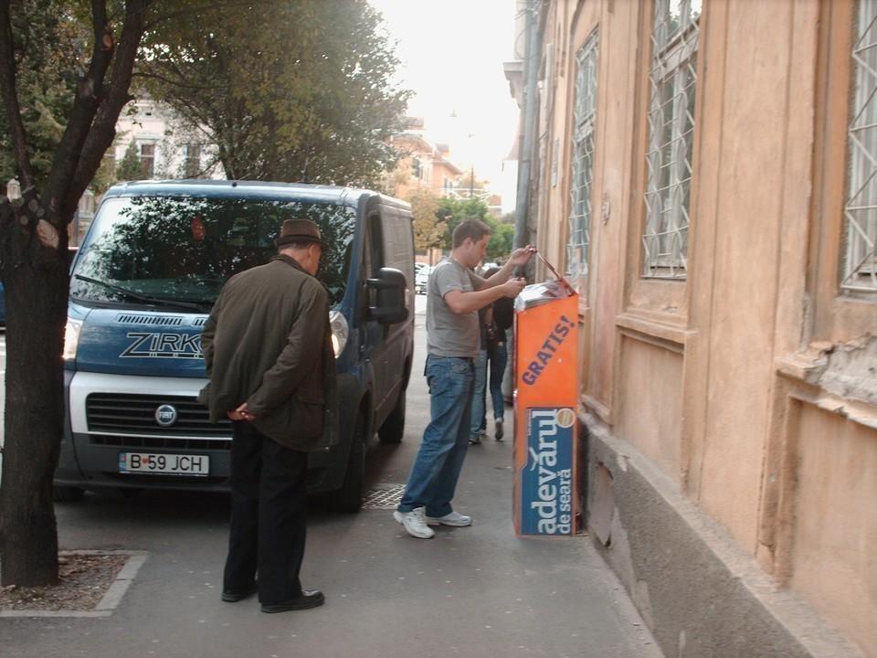 Cum se distribuie Adevarul de Seara Sibiu