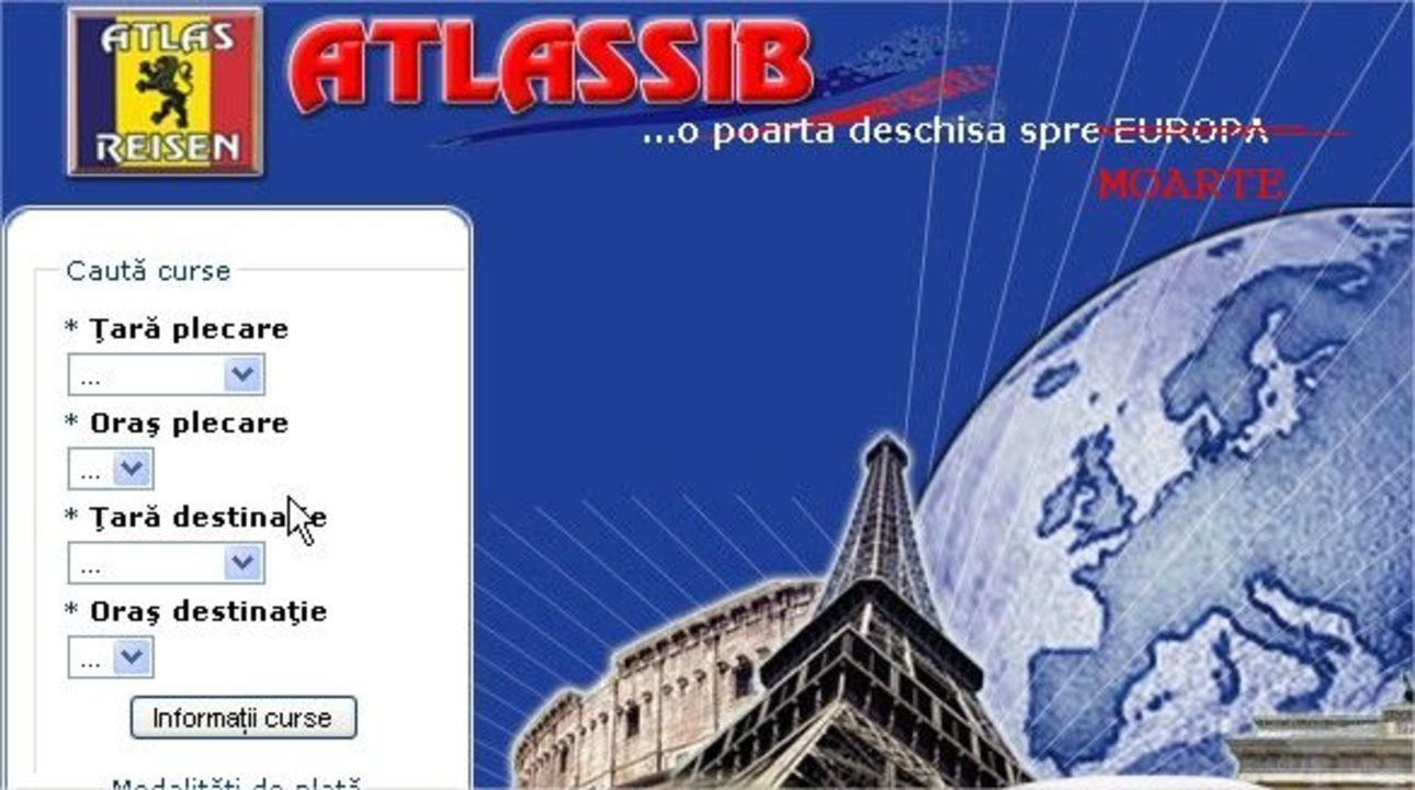 Autocarele Atlassib, abonate la accidente