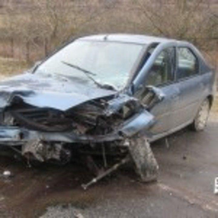 Accident lângă Axente Sever