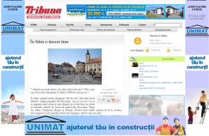 Tribuna are cel mai prost webdesigner
