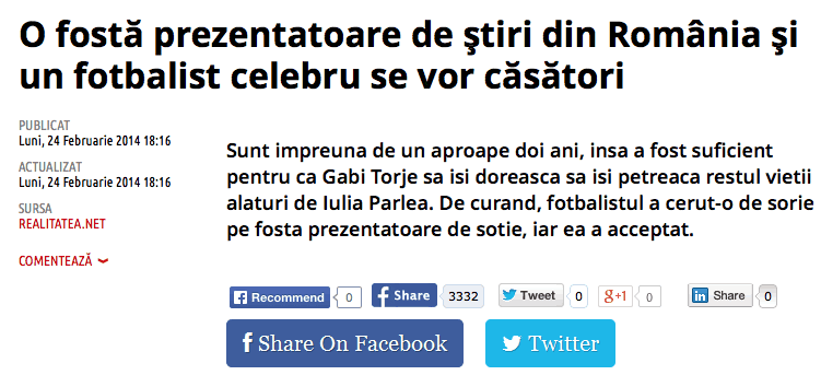 Torje isi trage sorie