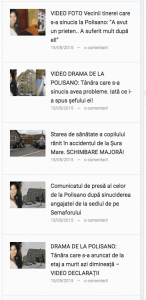 Presa la Sibiu...