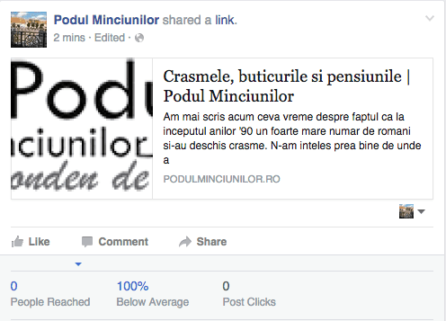 Facebook face progrese