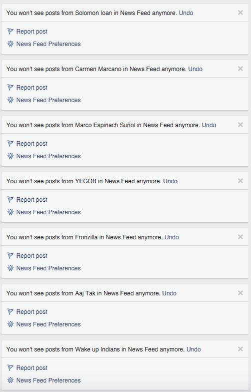 Ziua mea pe Facebook