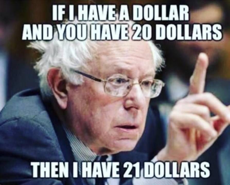 Bernie Sanders, sau mai bine zis...