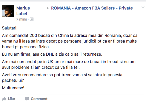 "Romanul e expert in ""biznit"""