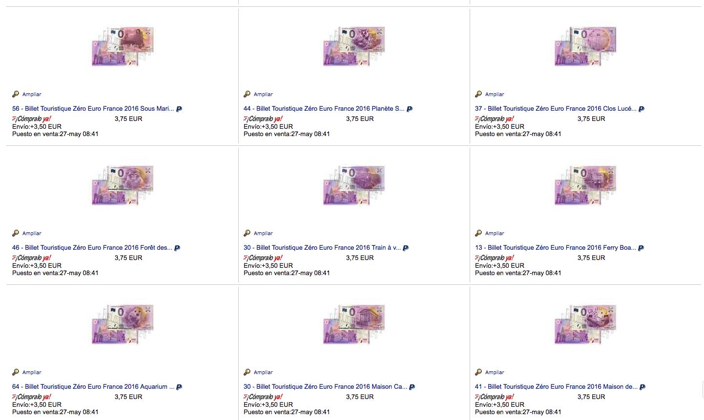[TIL] Exista oficial bancnota de zero euro