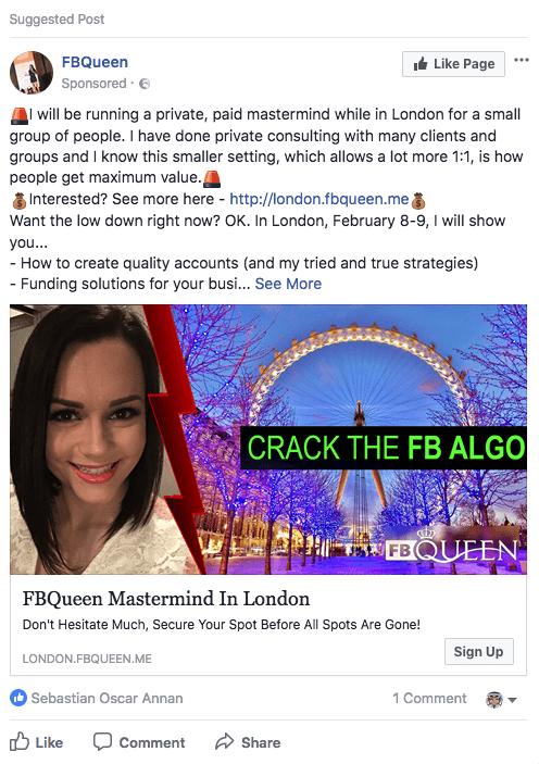 Facebook se lauda ca face chestii
