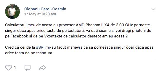 Veninul românesc de pe VK