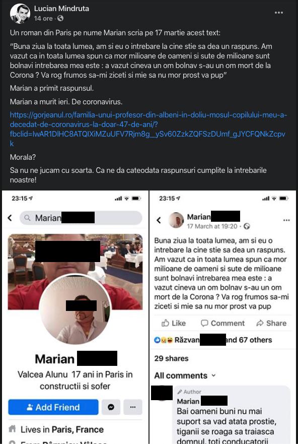 Mîndruță face slut shaming