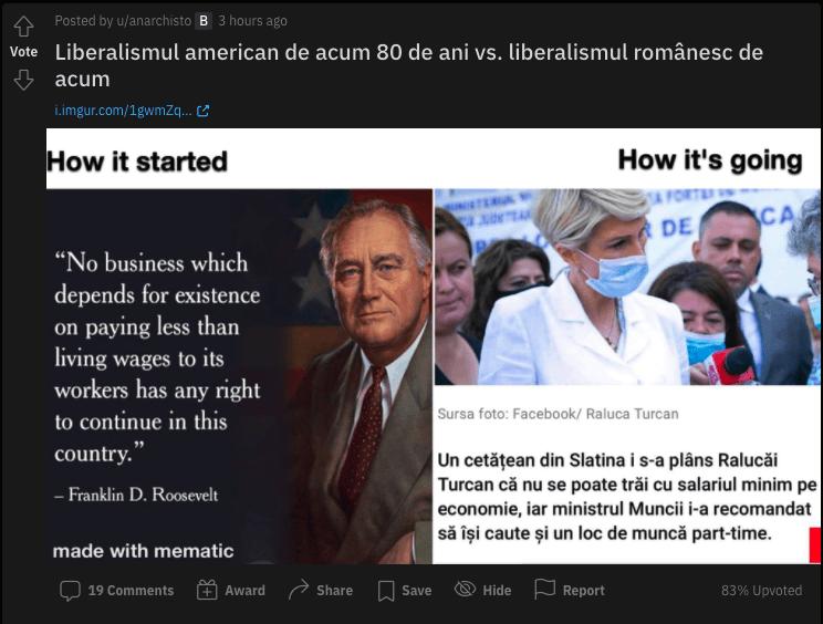 Stânga lor și dreapta noastră