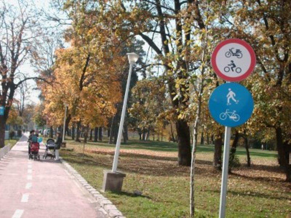 Pista pentru biciclisti?