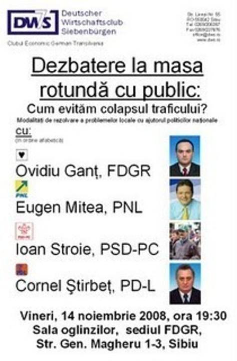 Veniti la dezbatere publica
