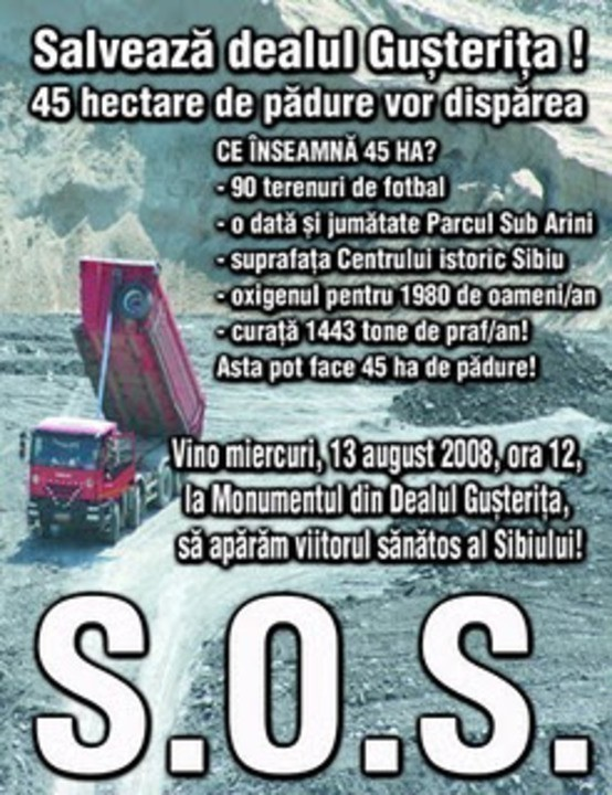 SOS Dealul Gusterita