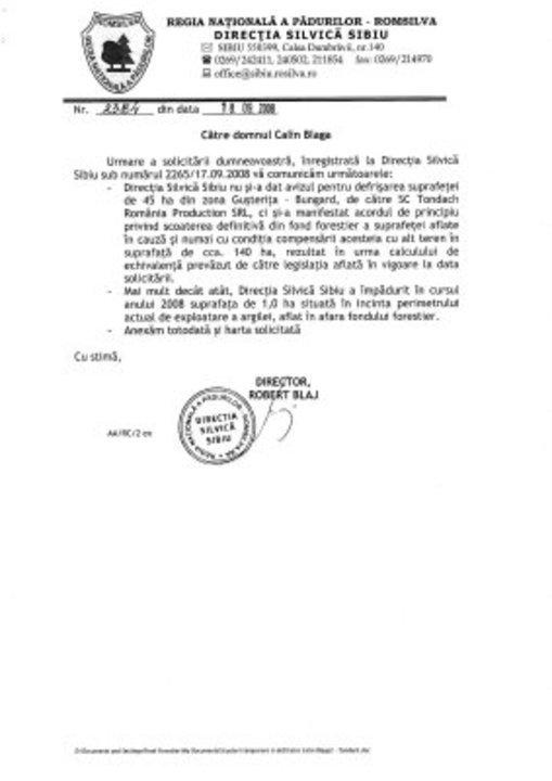 SOS Gusterita HARTA Defrisarilor!