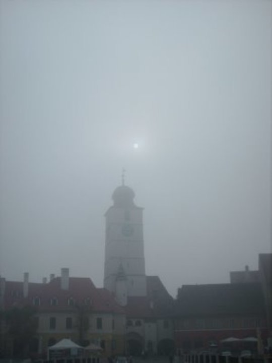 Sibiu in ceata