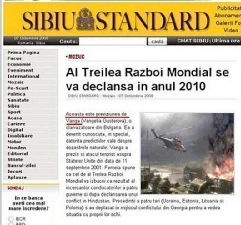 Prezicatoarea de la Sibiu Standard
