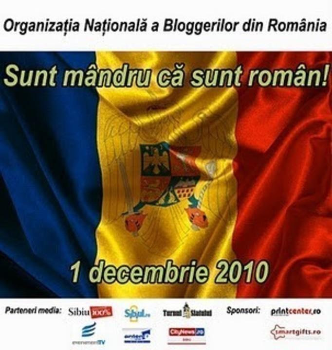 Sunt mândru că sunt român?