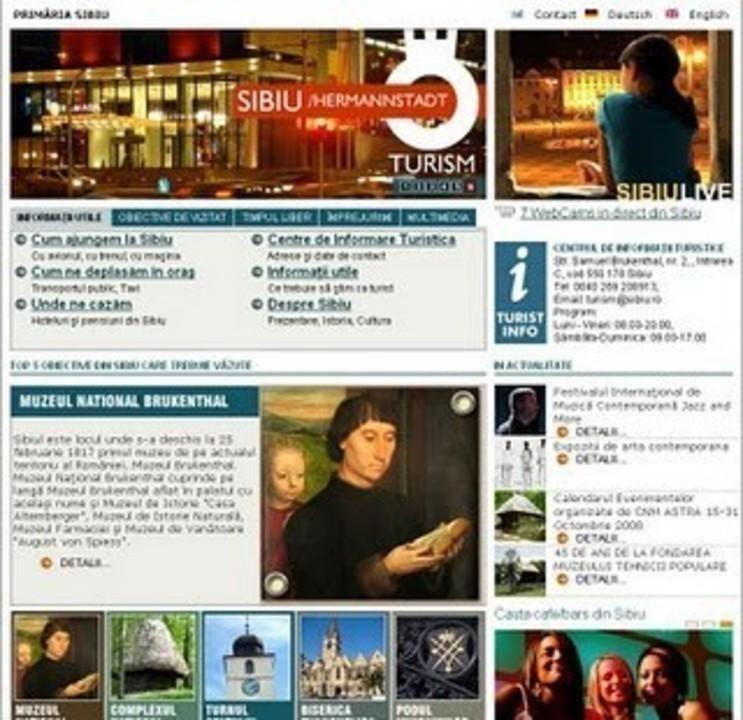 Sibiul Turistic pe internet